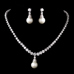 صورة pearl jewelry set