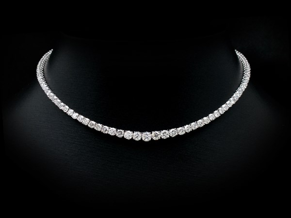 صورة diamond necklaces