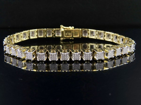 Picture of diamond bracelet