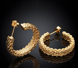 Picture of gold earring